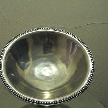 VAGABOND HOUSE PEWTER - LARGE BOWL 