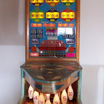 1958 Super-Frame Bowler by Chicago Coin Machine Company