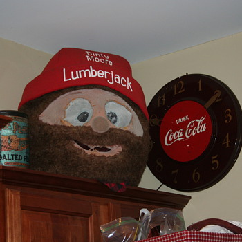 mascot head - Advertising