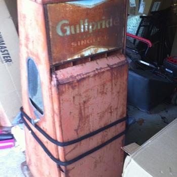 Vintage Oil Can Dispenser - Petroliana