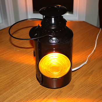 Antique Railway Signal Lanterns for Cabooses - Lamps