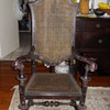 William and Mary Oak armchair (circa late 17th to early 18th century)