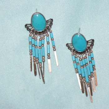Sterling Earrings - Beautiful Colour