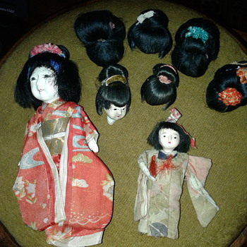 Gofun dolls or souvenir?  - Dolls