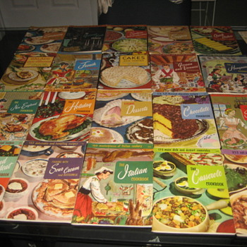 My Staff Home Economist's Culinary Arts Institute Cookbooks and a few others.