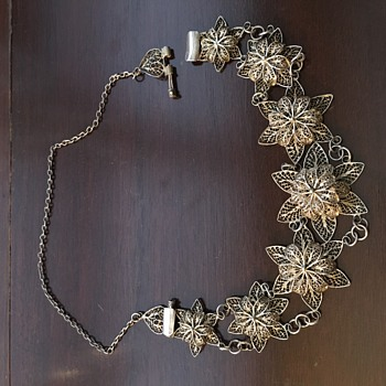 need help identifying Filigree Necklace - Fine Jewelry