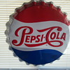 Pepsi Bottle Cap sign