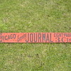 Chicago Evening Journal Sign