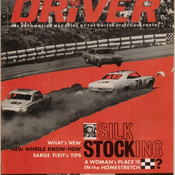 USAF Driver Magazine - August 1967 Issue - Paper