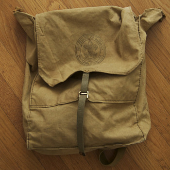 Vintage Boy Scout Backpack