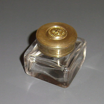 My new antique inkwell aquisition