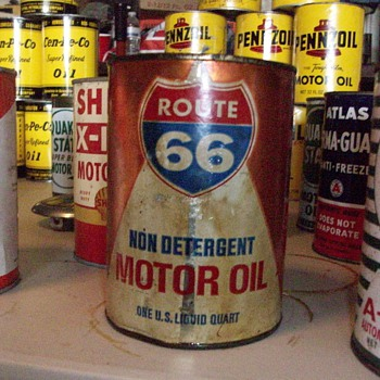 Route 66 Motor Oil? - Petroliana