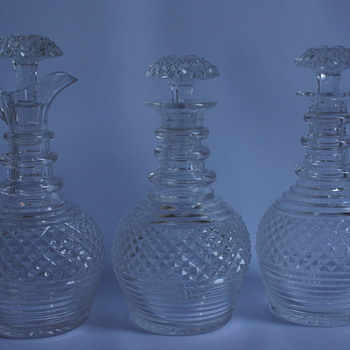 Decanter Set - Art Glass