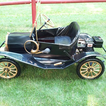 My other Model T Go kart - Classic Cars