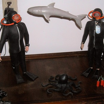 GI Joe Navy Frogman Set - Toys
