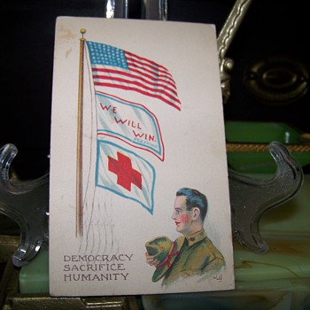 1918 Greeting Card - Paper
