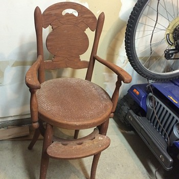 Vintage high chair - Furniture