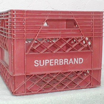 Superbrand Milk Crate - Winn Dixie - Advertising