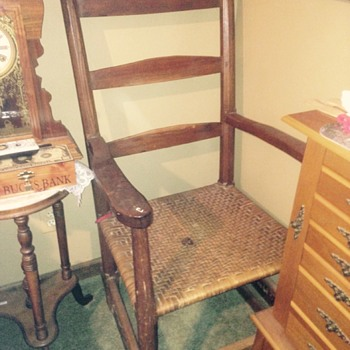 My favorite Shaker rocker made at Mount Shepard in NC