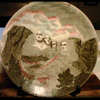 Mount Rushmore Plate - China and Dinnerware