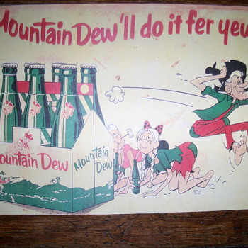 Mountain dew advetising - Signs