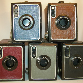 kodak Portarit Brownie model F nr2 - Cameras