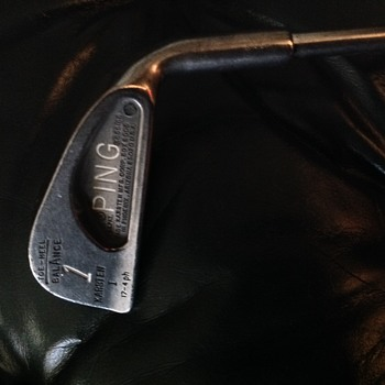 Early Karsten I PING 1 Iron
