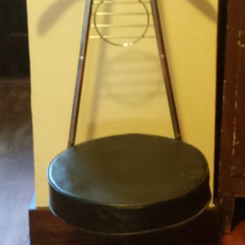 Mid century valet chair for my hubby