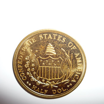Civil War centennial token