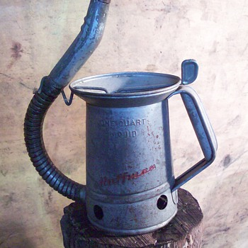 Huffman 1qt bulk oil can
