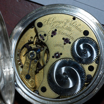 A Lange & Shone Pocket Watch 1836 ?