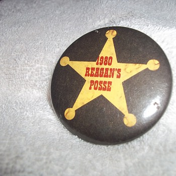 1980 ELECTION BUTTON