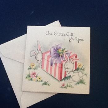Vintage cards  - Paper