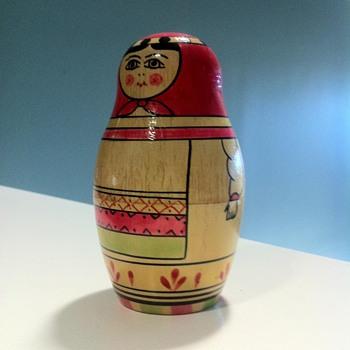 1960s USSR Matryoshka Nesting Doll stamped