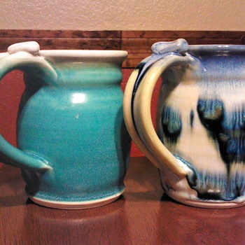 Studio Art Coffee Mugs Signed
