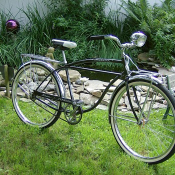 1962 Schwinn Typhoon Bicycle - Outdoor Sports