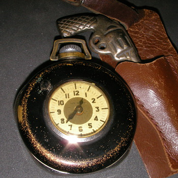 1939 Lone Ranger 'Lapel' Watch by New Haven - Pocket Watches