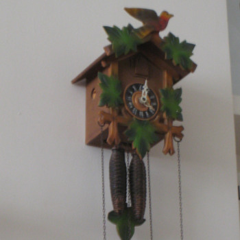 Antique 1950's German Forestall cuckoo clock. - Clocks