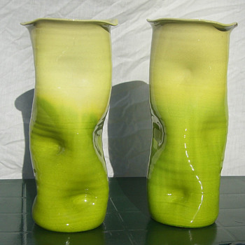 Unusual Bretby Vases - Art Pottery