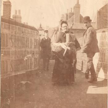 Street Scene - Nottingham, England, 1892 - Photographs