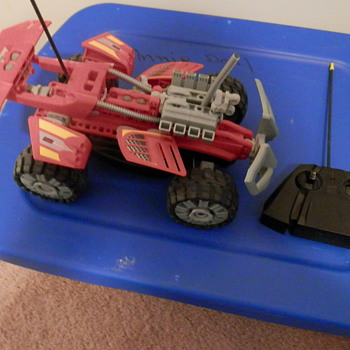 Lego transformer radio control car - Toys