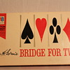 Vintage Bridge For Two (Fine Edition) Card Game ~ 1964