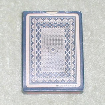 Playing Cards - India / Blue