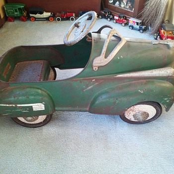 My 1st Pedal Car