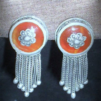 A Collection of  Vintage and Antique earrings