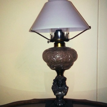 figiral oil lamp - Lamps