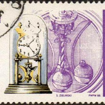 "Poland - ""Timepieces"" Postage Stamps"