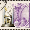 """Poland - """"Timepieces"""" Postage Stamps"""