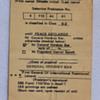 1960s anti-draft card - General Hershey Bar