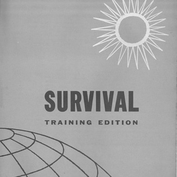 1962  USAF Survival - Training Edition